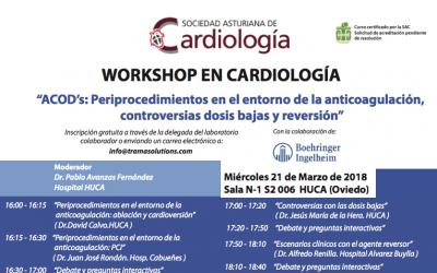 ACOD's: Periprocedimientos en el entorno de la anticoagulación, controversias dosis bajas y reversión