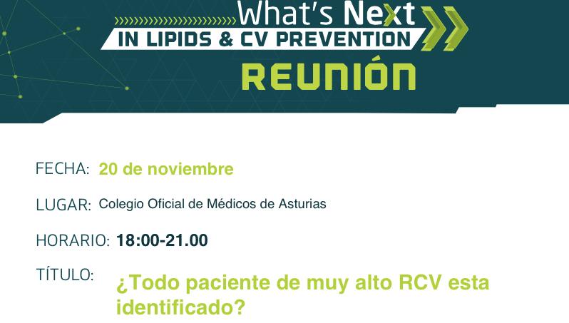 ¿Todo paciente de muy alto RCV con niveles de LDLc≥100mg/dl está identificado?