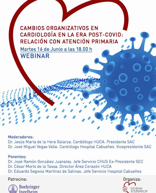 WEBINAR Sociedad Asturiana de Cardiología